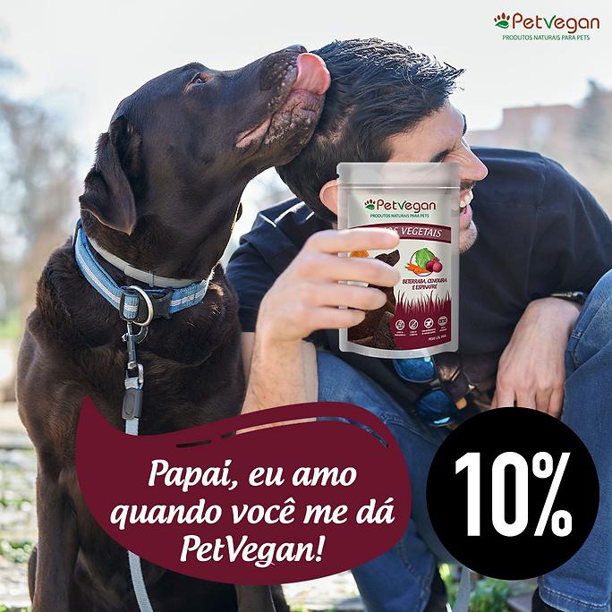 Pet Vegan Sticks Veganos