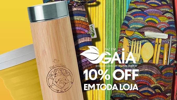 Paz em Gaya -  Multimarcas Vegana e Ecológica  10% OFF em todo site