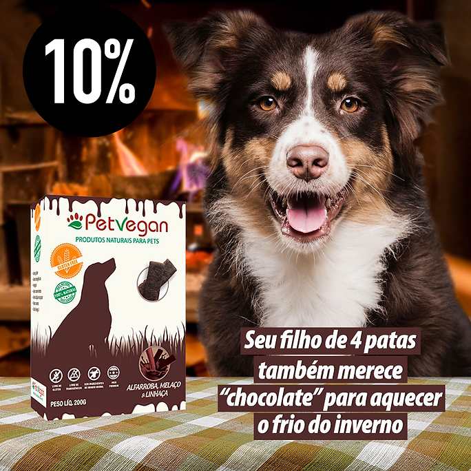 PetVegan Biscoito Vegano de Alfarroba