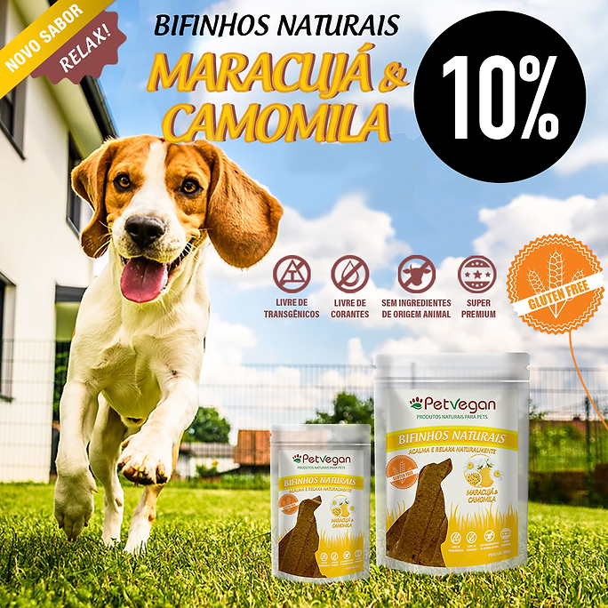 PetVegan Sticks Camomila Veganos