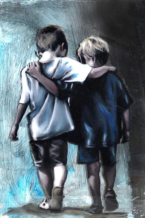 """Brother"" - Fine Art Print - A3"