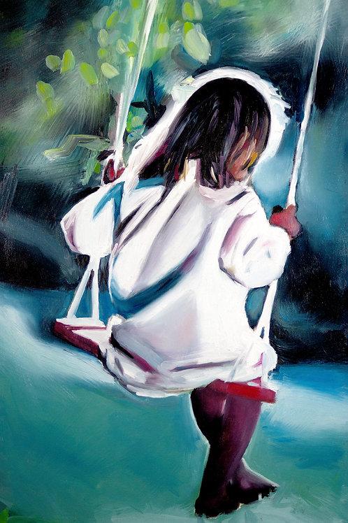 """""""Swing"""" - Fine Art Print - A3"""