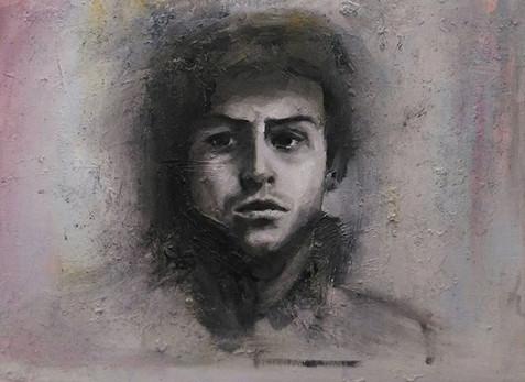 Oil on board__#portrait #portraitpaintin