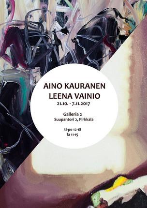 Aino Kauranen & Leena Vainio @Galleria2