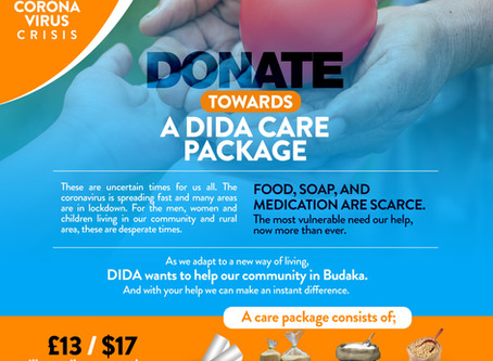 DIDA Care Package Fundraiser