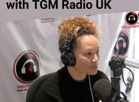 TGM Radio UK Interview 19 Nov 2019