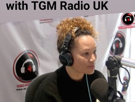 TGM Radio UK Interview 19 Nov 2019