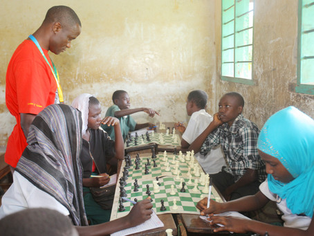 October Chess in Schools