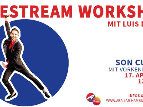 Son Cubano, Bachata & Kizomba Live Stream-Workshop