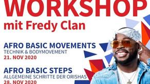 Online Live Stream  – Afro Workshop