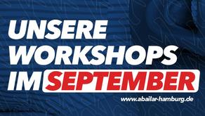 Unsere Workshops im September