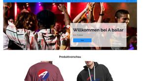 Unser A bailar-Merchandise Shop ist online.