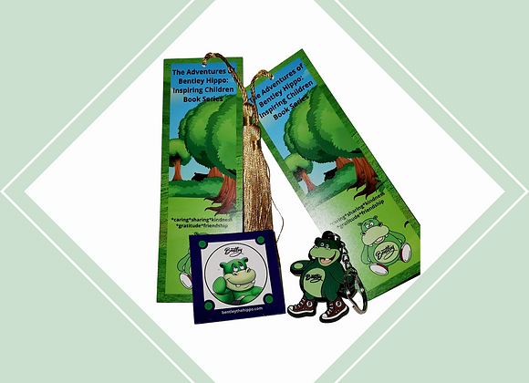 Keychain, Magnet and Bookmarks (5pk)