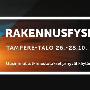 IAQe is attending Rakennusfysiikka 2021 seminar on October