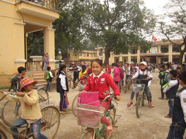 Bikes keep children in school