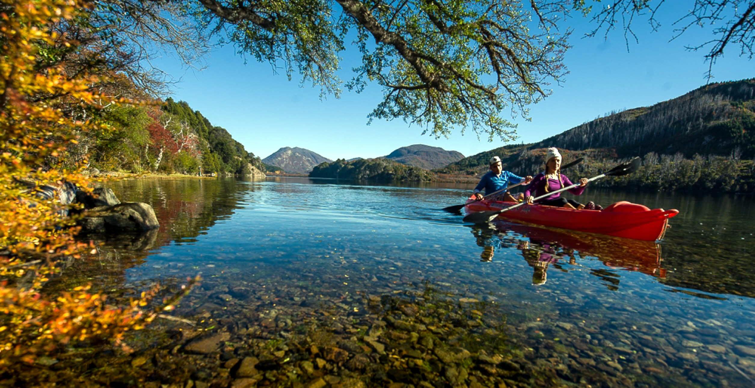 Lago Lacar en San Martin de los Ande
