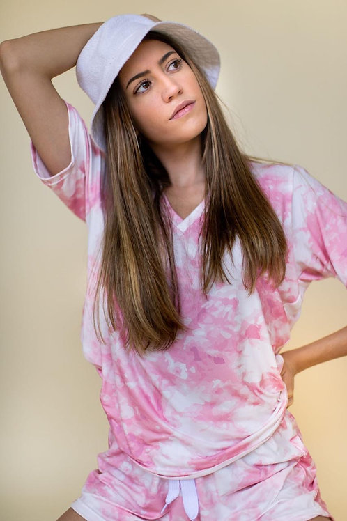 Pink Tie dye Outfit