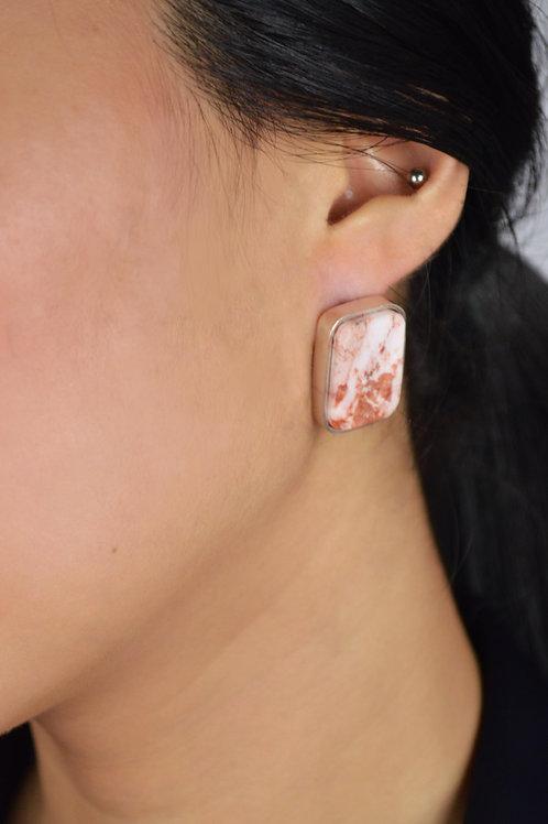 Intuición Marble Earrings