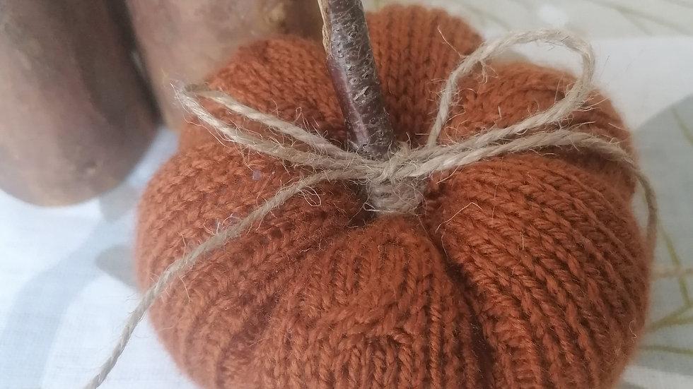Cable Knit Pumpkin