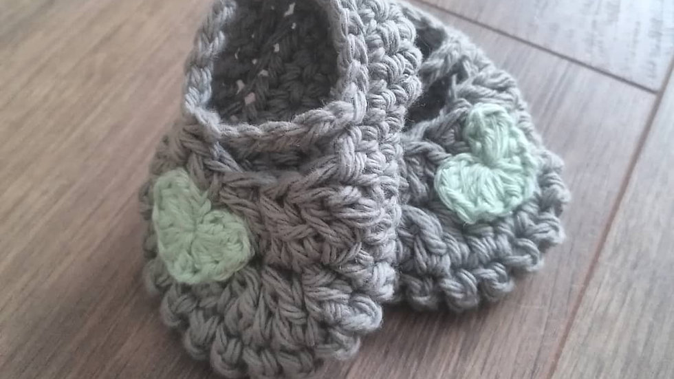 Mary Jane Baby Shoes (Age 3-6 months)