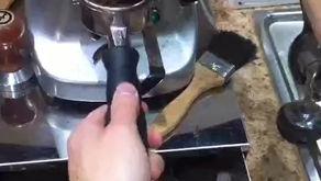 Coffee Latte Art video exhibition for fun