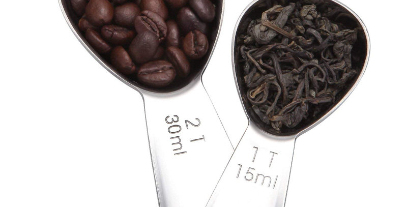 Stainless Steel 15ml 30ml Measuring Spoon For Coffee powder