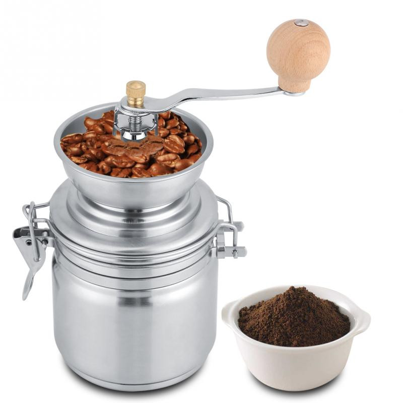manual coffee grinder for hand brewing coffee
