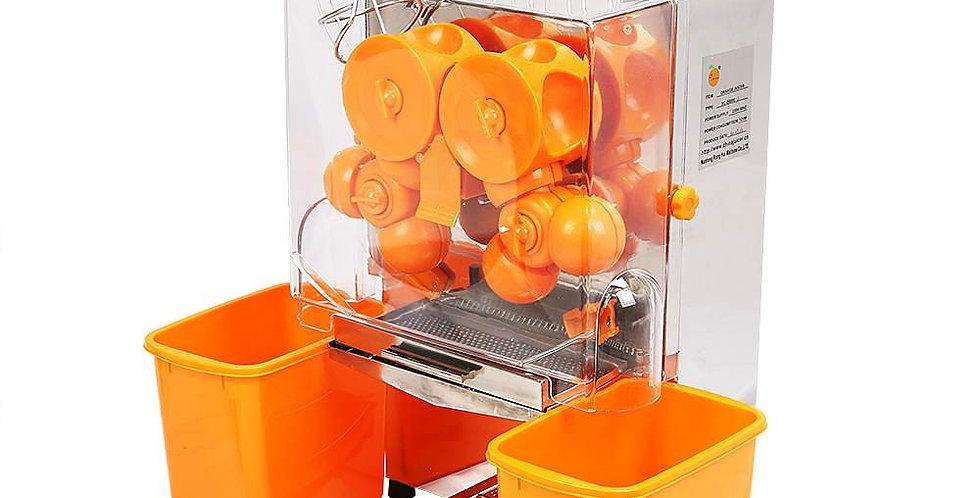 orange juice machine for extracting juice by squeezing