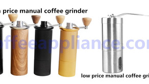 Difference between cheap and expensive manual coffee grinders