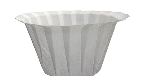 Replacement White Coffee Filters Single Serving Paper
