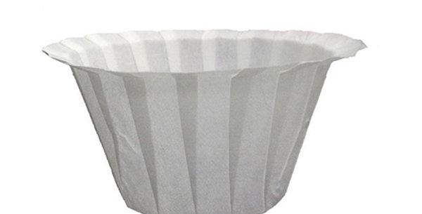 Zapasowe białe filtry do kawy Jednorazowy papier