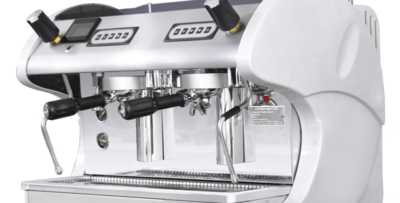 EU Standard high quality espresso coffee machine with two group head