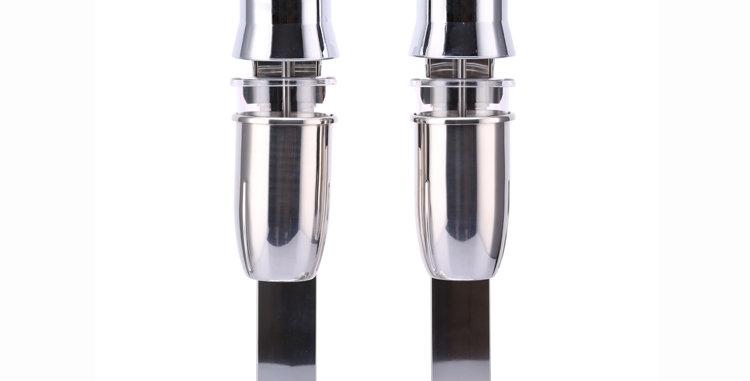 Cabeça dupla de aço inoxidável do dobro do abanador de leite das placas do uso comercial