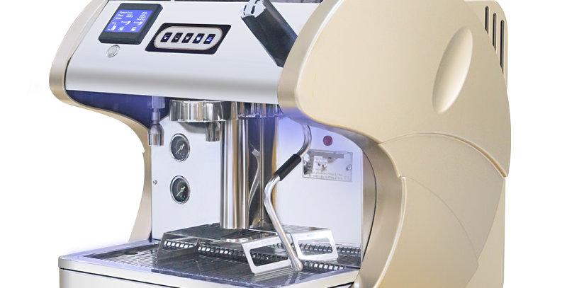 CE-hyväksynnän mukainen korkealaatuinen kaupallinen Espresso-kahvinkeitin
