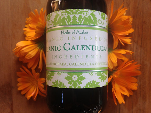 CALENDULA INFUSED OIL - Organic Calendula officinalis in organic Olea europaea