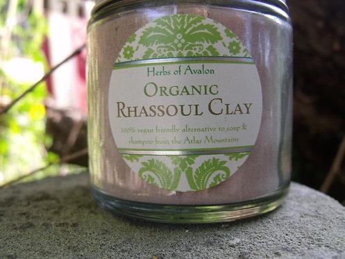 Organic Rhassoul Clay - Ancient African Skin Treatment