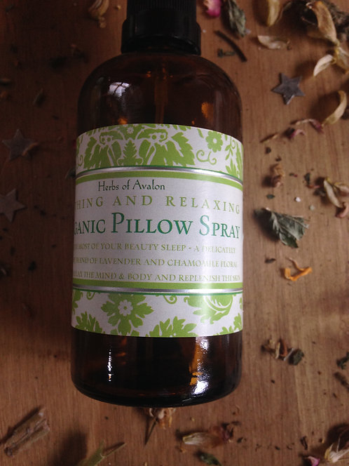 Organic Pillow Spray - Soothing & Calming