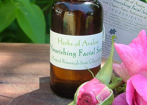 SOOTHING FACIAL SERUM - with Evening Primrose - Eczema prone and sensitive skin