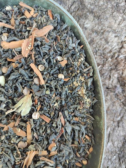 GREEN CHAI TEA BLEND - Antioxidant-rich with a spicy warmth