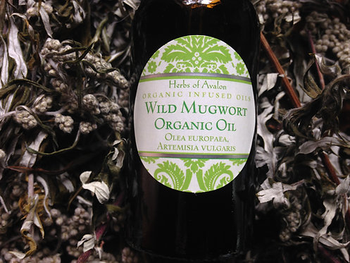MUGWORT INFUSED OIL - Calms Nervous System, aids ESP, imagination & Dreams