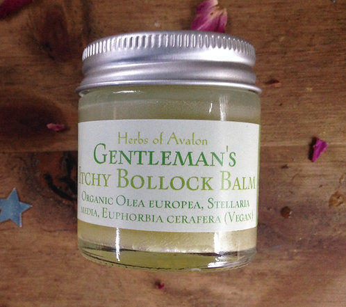 GENTLEMAN'S ITCHY BOLLOCK BALM - For the relief of itchy balls! Anti-itch salve