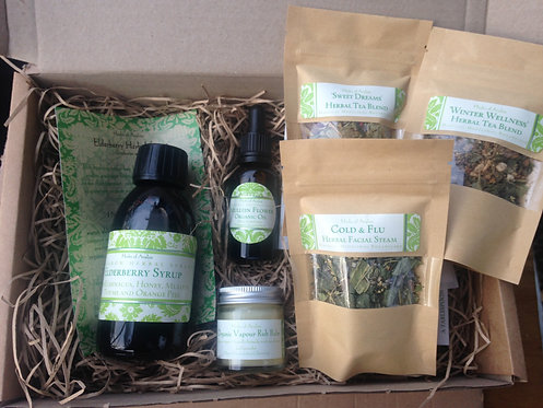 Winter Wellness Kit - Traditional Herbal Remedies for Winter Maladies - Small