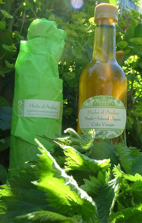 Stinging Nettle Infused Organic Cider Vinegar