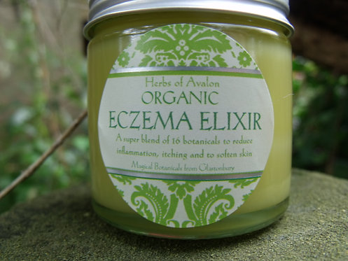 ECZEMA ELIXIR - VEGAN FORMULA - Naturally Anti-Inflammatory - Soothes and Heals