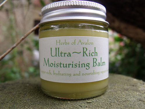 ULTRA RICH MOISTURE REPAIR BALM - Organic Skin Quench for Dry & Extra Dry Skin