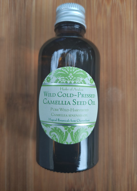 Wild Cold-Pressed Camellia Seed Oil