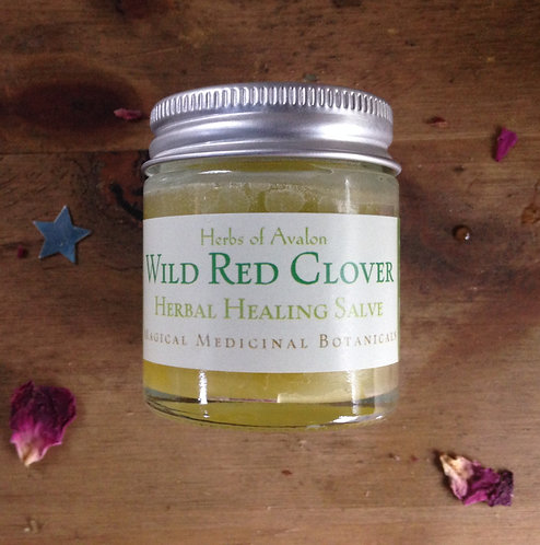 RED CLOVER HERBAL SALVE - Helps to relieve inflamed issues - Organic ointment