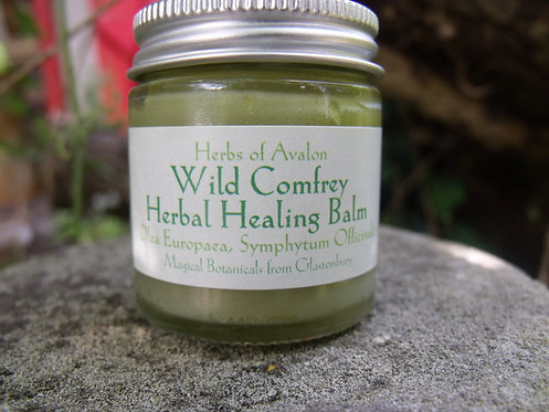 COMFREY HERBAL BALM - Healing, gentle and regenerative organic ointment