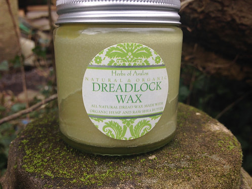 ORGANIC Dreadlock Wax with Hemp, Shea, Coconut, Nettle & Horsetail