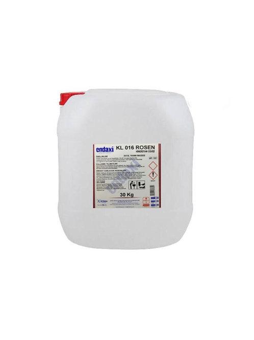 Endaxi KL 016 Rosen Sıvı El Yıkama Maddesi 30 Kg (Hindistan Cevizi)